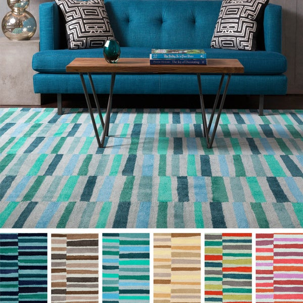 Hand Tufted Betsy Polyester Rug 8 X 11 Free Shipping