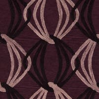 Hand-Tufted Mydland Contemporary New Zealand Wool Area Rug