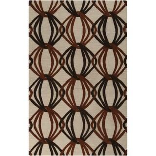 Hand-Tufted Mydland Contemporary New Zealand Wool Rug (8' x 11')