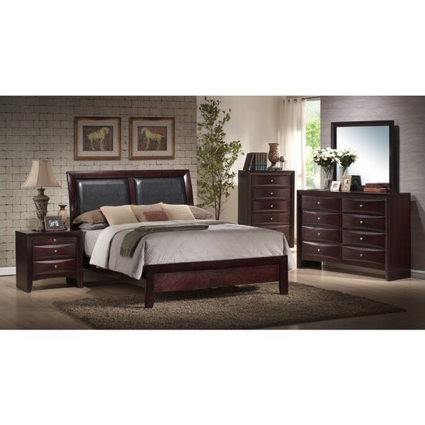 Shop picket house furnishings madison panel 5pc bedroom set on sale free shipping today for Cityscape bedroom furniture collection