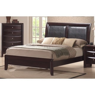 Picket House Madison Modern Faux Leather Insert Panel Bed