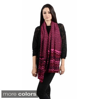 Missoni Zig-zag and Straight Scarf Combination Scarf