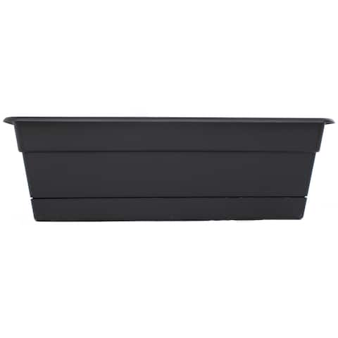 Bloem Dura Cotta Black Window Box