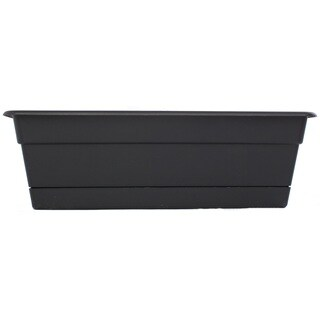 Bloem Dura Cotta Black Window Box