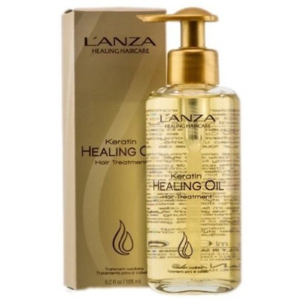 L'ANZA Healing Keratin Oil 6 2-ounce Hair Treatment