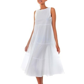 Cotton 'Cool White' Sundress (Indonesia)