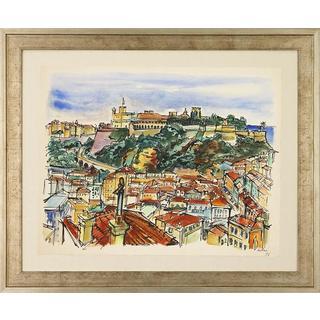 Parisian Watercolors Framed Art Print