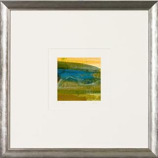 Aerial Abstract Squares Framed Art Print