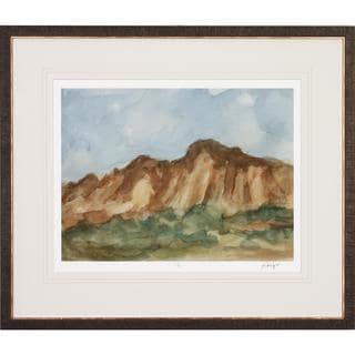 Watercolor Sketchbook Framed Art Print