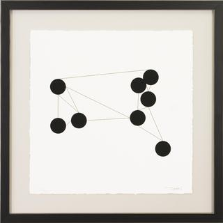 Daily Geometry Framed Art Print