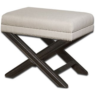 Uttermost Viera Black Wood Bench