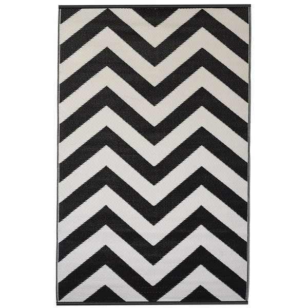Black And White Geometric Rugs For Sale: Shop Handmade Indo Laguna Black And White Geometric Area