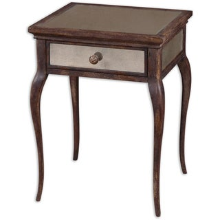 Uttermost St. Owen Mirrored End Table