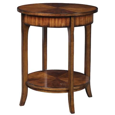Uttermost Carmel Round Lamp Table