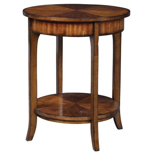 Uttermost Carmel Round Lamp Table. Opens flyout.