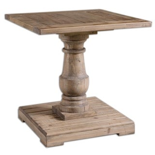 Uttermost Stratford Wood End Table