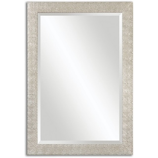 Uttermost Porcius Antiqued Silver Bevelled Mirror - Antique Silver - 29x41x0.75