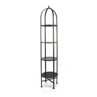 Black 6-tier Metal Shelf