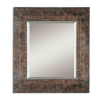 Uttermost Jackson Rustic Metal Wall Mirror