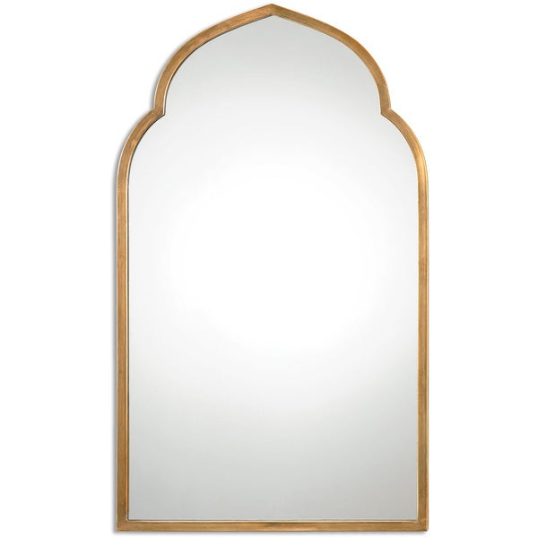 Well-liked Uttermost Kenitra Gold Arch Decorative Wall Mirror - Free Shipping  IM83