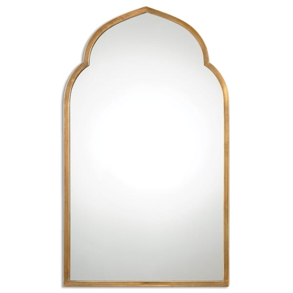 Uttermost Kenitra Gold Arch Decorative Wall Mirror - Antique Silver - 24x40x1.125. Opens flyout.