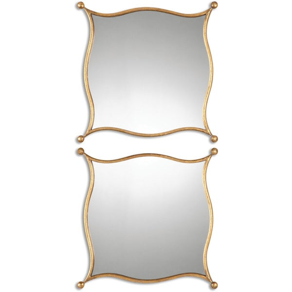 Decorative Gold Mirrors. Uttermost Sibley Decorative Gold Mirrors  Set of 2 Free