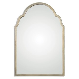 Uttermost Brayden Petite Silver Arch Decorative Wall Mirror