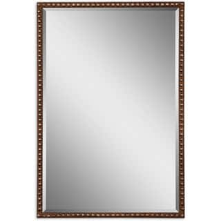 Gold rectangular mirrors for less for Decorative mirrors for less