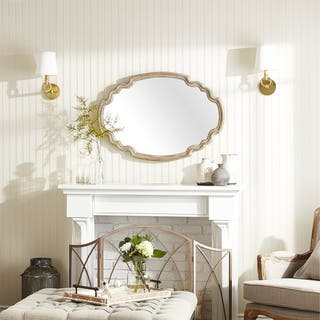 Uttermost Ludovica Aged Wood Mirror|https://ak1.ostkcdn.com/images/products/9729359/P16902831.jpg?impolicy=medium
