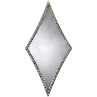 Uttermost Gelston Silver Diamond Decorative Mirror (Set of 2)