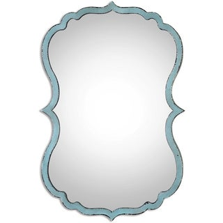 Uttermost Nicola Light Blue Decorative Mirror