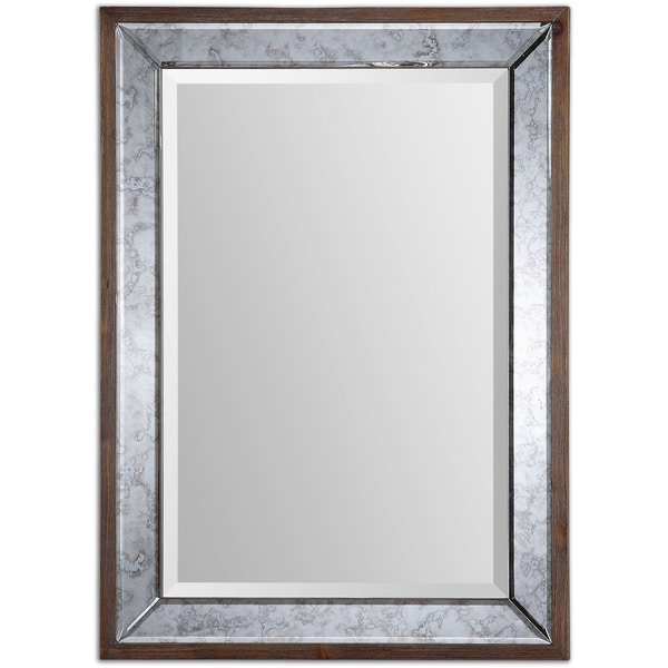 Shop Uttermost Daria Antique Framed Mirror - Free Shipping Today ...