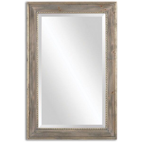 Uttermost Quintina Pine Mirror