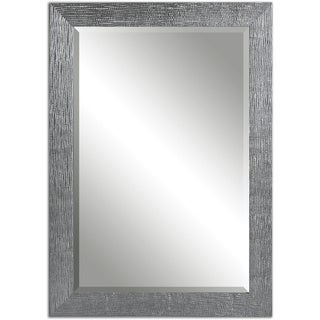 Carbon Loft Gibbon Silver Bevelled Mirror