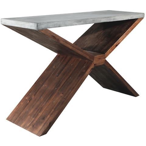 Sunpan 'MIXT' Vixen Brown Console Table