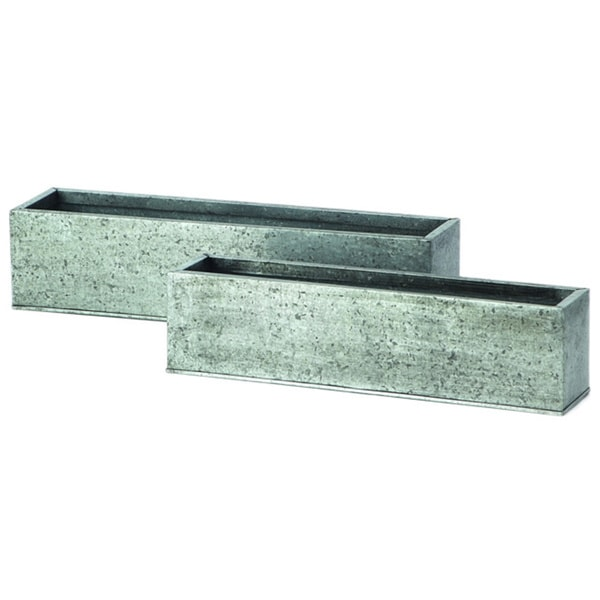 Rectangular Galvanized Cube (Set of 2/ Pack of 2). Opens flyout.