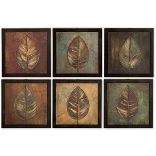 Uttermost New Leaf Panels (Set of 6)
