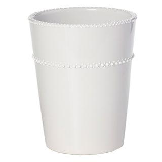 6.3-inch x 6.3-inch x 7.9-inch Ceramic Round Pot