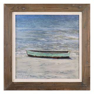 Uttermost Grace Feyock 'Das Boot' Framed Canvas Nautical Wall Art