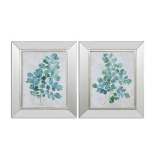 Uttermost Grace Fryock 'Spring Leaves' Framed Pastel Print Wall Art (Set of 2)
