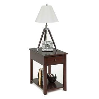 Birch Veneer Mission Chairside Table