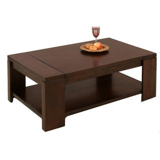 Waverly Vintage Walnut Rectangular Castered Cocktail Table