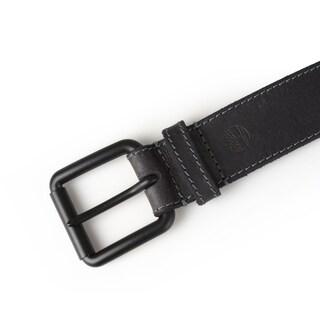 Timberland Men's Genuine Leather Topstitched Belt