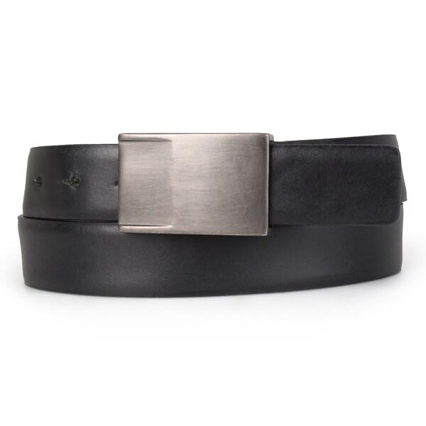 Shop Calvin Klein Men S Genuine Leather Sliding Buckle