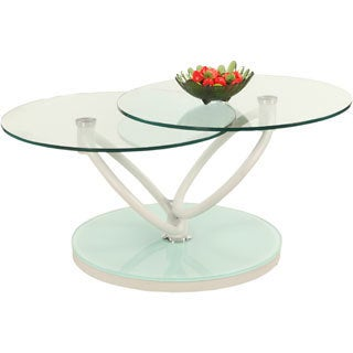 Somette Two Tier Motion Cocktail Table