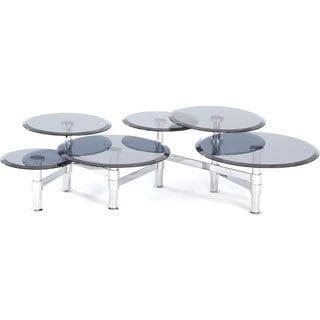 Somette Multi-tier Extendable Cocktail Table