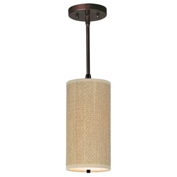 Fluorescent Light Elements: Shop Fluorescent One-light Bronze Elements Mini Pendant