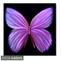 24-inch Nova Butterfly Metal Wall Art