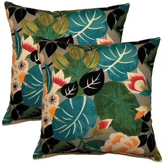 Isla Sterling 17-inch Throw Pillows (Set of 2)