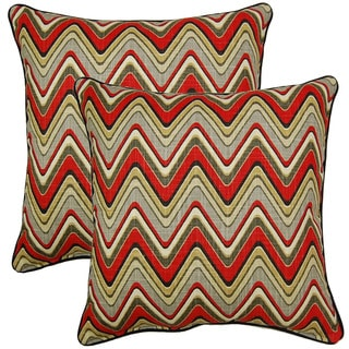 Sand Art Graphite  17-inch Throw Pillows (Set of 2)